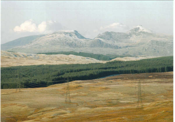Snowdon from Arenig Fawr 001
